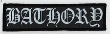 BATHORY PATCH / SPEED-THRASH-BLACK-DEATH METAL