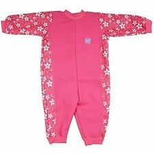 Splash About Warm in One Mini Wetsuit Baby Toddler Swim Costume Surfs up Pink Small 0-3m Sporty