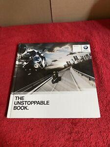 "Hardback BMW 2010 Motorbike Range Brochure "" the Unstoppable Book """