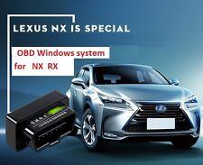 OBD auto windows system for LEXUS SUV NX200t NX300h RX200t RX350 RX450h 2017