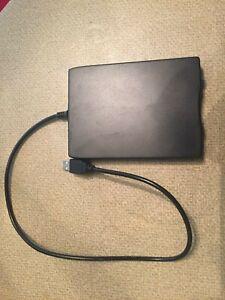 TEAC Model FD-05PUB 1.44 MB External Floppy Disk Drive Unit