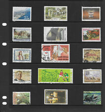 South Africa 6 stock sheets mix collection stamps