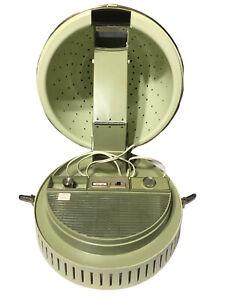 VTG Lady Schick Consolette Hair Dryer Model 321 Mist Hair Salon Remote Green EUC