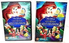 2B DVD THE LITTLE MERMAID ARIEL'S BEGINNING Walt Disney Prequel!