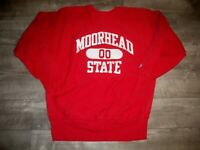 Champion Moorhead College University Pullover Reverse Weave Sweatshirt Men's XL