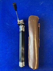 Vixen Camera Tripod in Leather Case