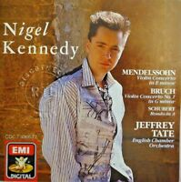NIGEL KENNEDY / MENDELSSOHN / BRUCH / SCHUBERT / JEFFREY TATE [ CD ALBUM ]