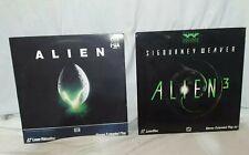 Alien & Alien III on Laserdisc Very Good Condition