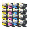 16 PACK New LC103 LC103XL for Brother LC101 LC-103 LC 103BK LC103C LC103M LC103Y