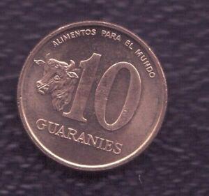 PARAGUAY 10 GUARANI 1996
