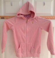 Girl's 6x Juicy Couture Pink Hoodie