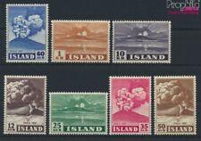 Islande 247-253 Volume 1948 complèteett neuf 1948 Heklaausbruch (9077364