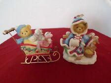 "Cherished Teddies "" Irmgard "" Girl w/ Muff & Birds Limited Edition, Brian 533807"
