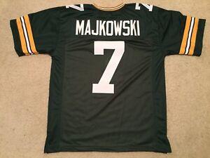 UNSIGNED CUSTOM Sewn Stitched Don Majkowski Green Jersey - M, L, XL, 2XL, 3XL