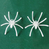 20 Pcs Noctilucent Spiders Halloween Festival Supplies Funny Joking Toy *tr