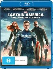 Captain America: The Winter Soldier  - BLU-RAY - NEW Region B
