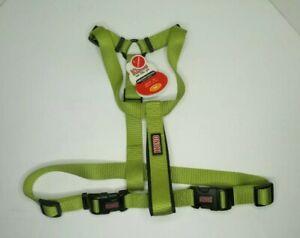 "KONG Cushioned Dog Harness Size Medium 20""-30"" Girth 5169580 Green ""New w/ Tags"""