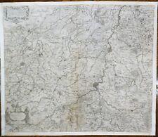 Antique map - DIOECESIS LEODIENSIS ACCURATA TABULA by Hondius - Engraving - 1640