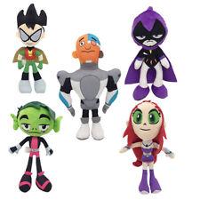 Teen Titans Go Robin Starfire Beast Boy Raven Cyborg Stuffed Animal Plush Toy