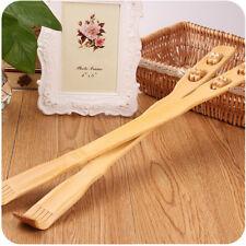 1pc Bamboo Massager Back Scratcher Wooden Body Roller Stick Back Scratcher O