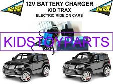 12 Volt Battery Charger / KID TRAX MERCEDES ML63 Ride On Toys w/ Blue Connector