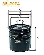 Wix Oil Filter WL7074