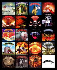 "KROKUS album discography magnet (3.75"" x 4.75"" magnet)"