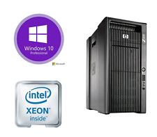 HP Z800 Workstation 2x Xeon 12 Cores X5670 96GB 500GBSSD 1TB Quadro K2000 4x LFF