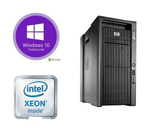 HP Z800 Workstation 2x X5650 2.66GHz, 12GB 500GB Quadro 4000 Win10