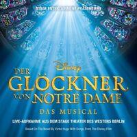 THEATER DES WESTENS - DER GLÖCKNER VON NOTRE DAME-DAS MUSICAL   CD NEW+