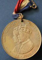 1910 - 1935 George V Silver Jubilee silver medallion 38mm *[16040]