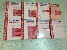 2004 Subaru Impreza Service Repair Workshop Shop Manual Set OEM H4SO Incomplete