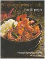 50 Great Curries of India, Panjabi, Camellia , Good, FAST Delivery
