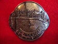 Grosser Arbersee mit Seehaus badge stocknagel hiking medallion G0812