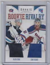 11-12 2011-12 ROOKIE ANTHOLOGY GEOFFRION SMITH ROOKIE RIVALRY DUAL JERSEY 3