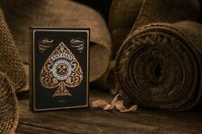 INVISIBLE ARTISAN BLACK EDITION BICYCLE DECK OF PLAYING CARDS GAFF MAGIC TRICKS