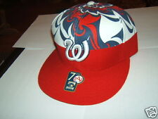 COOPERSTOWN COLLECTION Red Hat 7 3/4 Headwear - NEW