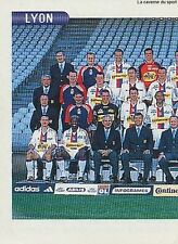 N°116 EQUIPE TEAM 1/2 LYON LYONNAIS VIGNETTE PANINI FOOTBALL STICKER 2001