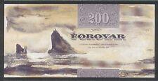 (BN 0069) 2001 Fareo Islands 200 Kronur - UNC