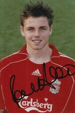 LIVERPOOL HAND SIGNED PAUL ANDERSON 6X4 PHOTO.