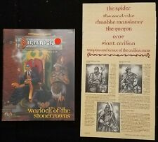 TSR Dungeons & Dragons Birthright RPG Book - Warlock of the Stonecrowns - NEW