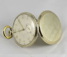 Antique Swiss OMEGA GOLD Plated Pocket Watch 1935's Awesome