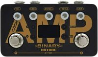 Hotone Binary Amp Modeling Amplifier Simulation Guitar Effects Pedal BAP-1