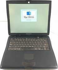 Vintage Apple/Macintosh PowerBook G3 333MHz, 128MB, 4GB, ATI Rage M, MacOS 8.6