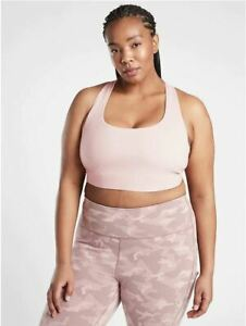 Athleta NWT Women's Ultimate Bra D-DD Size 1XLarge Color Orchid Pink
