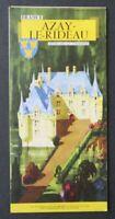 Brochure touristique LANGEAIS par Jean Adrien MERCIER dépliant Tourisme