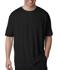 Big Men's UltraClub Cool-n-Dry Performance T-Shirt Short Sleeve Sizes 3XL to 6XL