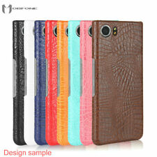 Luxury Crocodile Hard Matte Back Cover Case For BlackBerry Keyone PRIV Q20 Q30