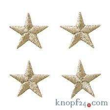 Applikation zum Aufbügeln 4 Sterne silber (#76329)