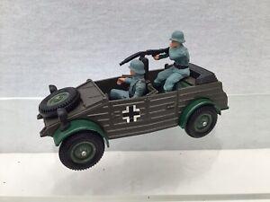 Vintage Britains Diecast WW2 German Volkswagen Kubelwagen With Crew #67